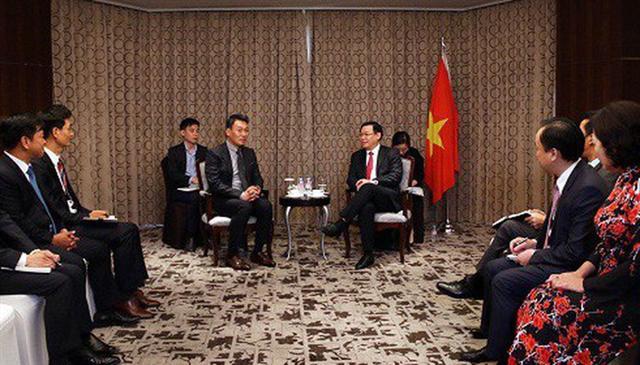 Phó thủ tướng gợi ý ngân hàng Hàn Quốc mua lại ngân hàng yếu kém của Việt Nam