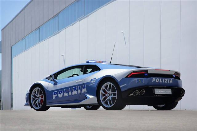 Những chiếc xe cảnh sát sang chảnh bậc nhất thế giới - Ảnh 5.