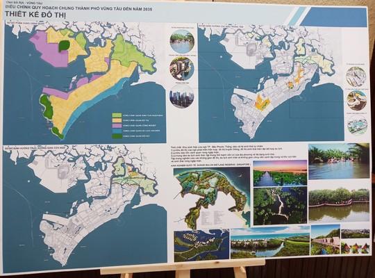 Công bố điều chỉnh quy hoạch chung và quy hoạch sử dụng đất TP Vũng Tàu - Ảnh 1.