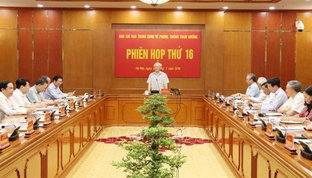 Kỷ luật, xử lý hình sự trên 70 cán bộ thuộc diện Bộ Chính trị, Ban Bí thư quản lý