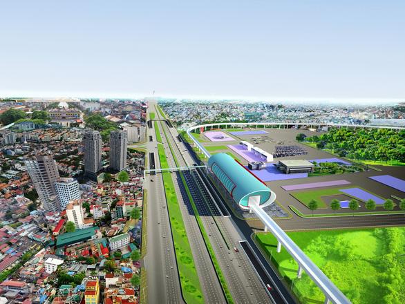 437 tỉ đồng xây cầu vượt trước Bến xe Miền Đông mới - Ảnh 1.