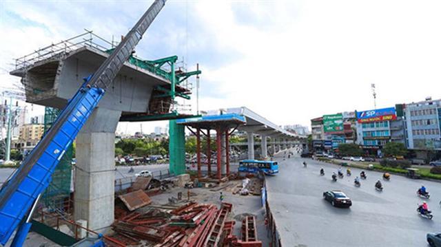 Đường sắt đô thị Nhổn - ga Hà Nội sẽ vận hành vào tháng 12.2022
