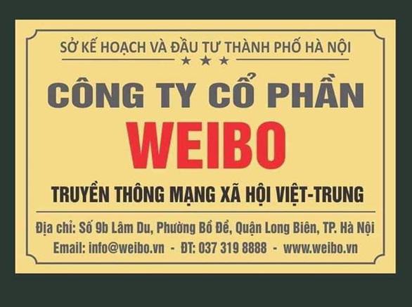 Có hay không mạng xã hội Việt - Trung Weibo? - Ảnh 1.