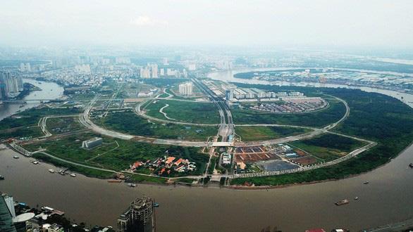 Khu đô thị mới Thủ Thiêm: <span>TP.HCM</span> khó hoàn trả 26.000 tỉ đồng đã tạm ứng - Ảnh 1.