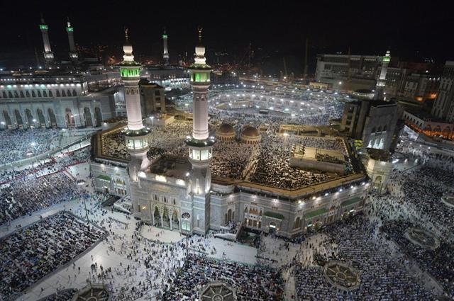 Hình ảnh hàng triệu người Hồi Giáo hành hương về Thánh địa Mecca - Ảnh 4.