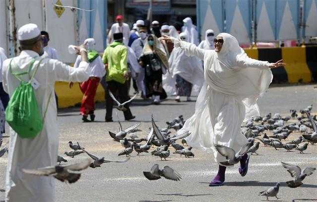 Hình ảnh hàng triệu người Hồi Giáo hành hương về Thánh địa Mecca - Ảnh 7.