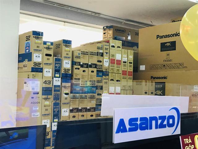 Loạt doanh nghiệp đối tác nhập hàng cho Asanzo đi đâu?