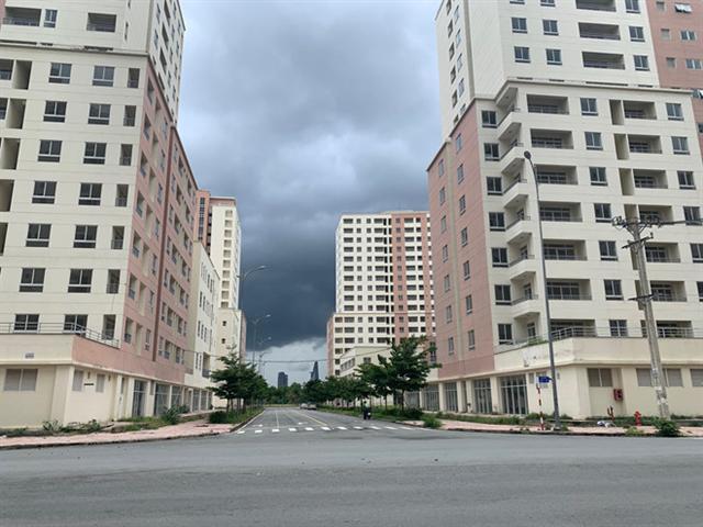Người dân tham gia đấu giá căn hộ tái định cư