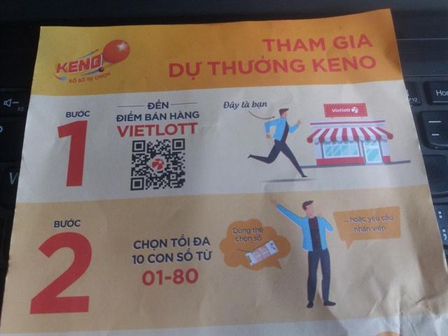 Vietlott sắp bán vé Keno, 10 phút quay số 1 lần, trúng thưởng đến 10 tỉ đồng - Ảnh 1.