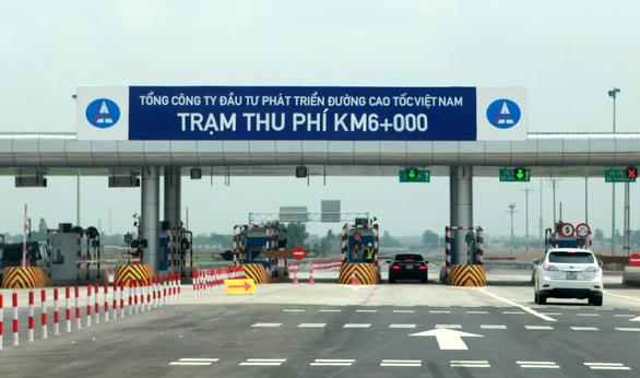 Bộ Giao thông vận tải nhờ Thủ tướng đôn đốc VEC triển khai thu phí tự động - Ảnh 1.