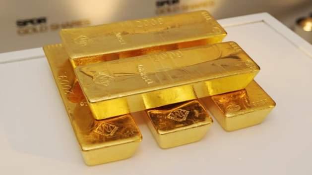 Vàng thế giới có phiên giảm hơn 2% xuống đáy 2 tuần