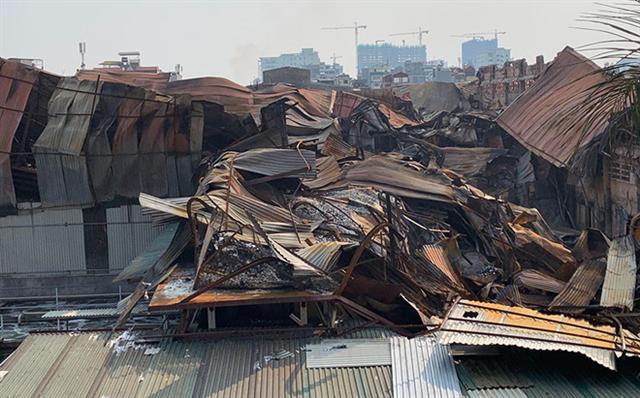 Cháy Công ty Rạng Đông: Hỏa tốc đề nghị Hà Nội phối hợp xử lý sự cố