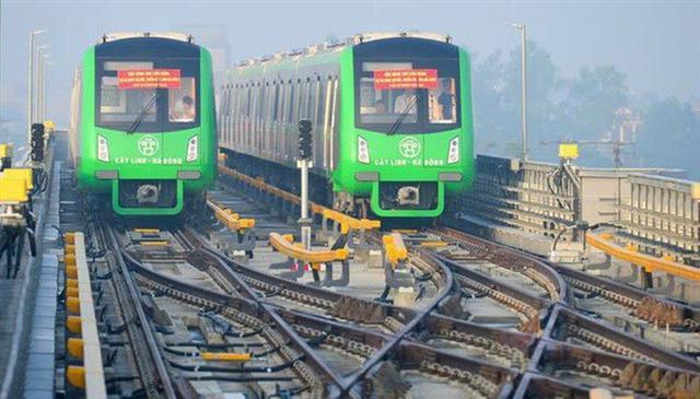 Chưa hoạt động đã lo chuyện đường sắt Cát Linh - Hà Đông gặp sự cố