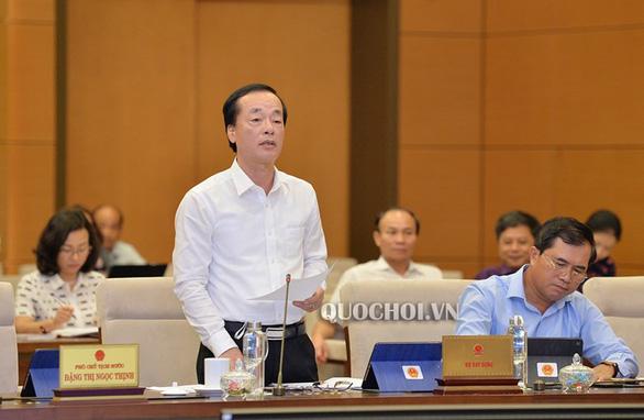 Bộ trưởng Phạm Hồng Hà: Pháp luật không quy định