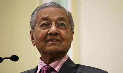Thủ tướng Malaysia Mahathir hứa chuyển giao quyền lực