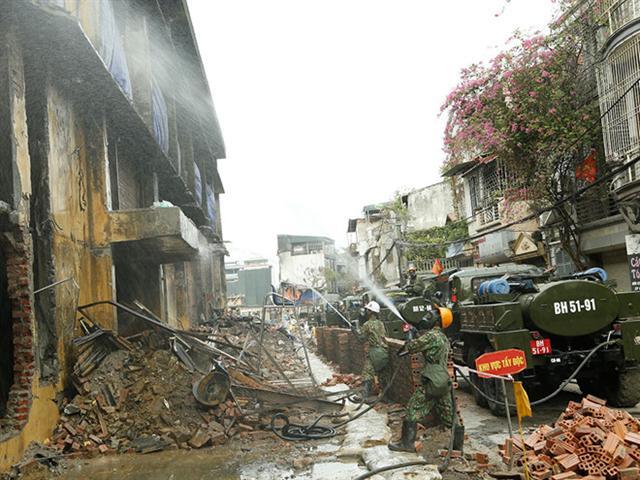 Vụ cháy Công ty Rạng Đông: Nhiều người dân vẫn chưa trở về nhà