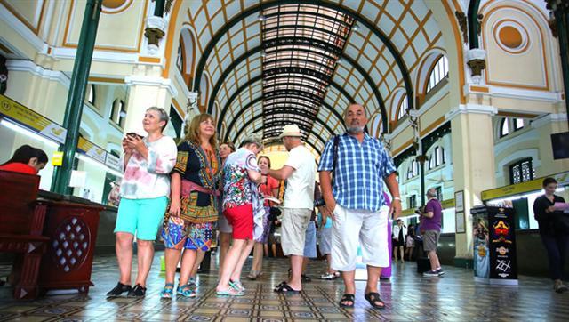 TP.HCM 'bỏ túi' hơn 108.000 tỉ đồng từ du lịch