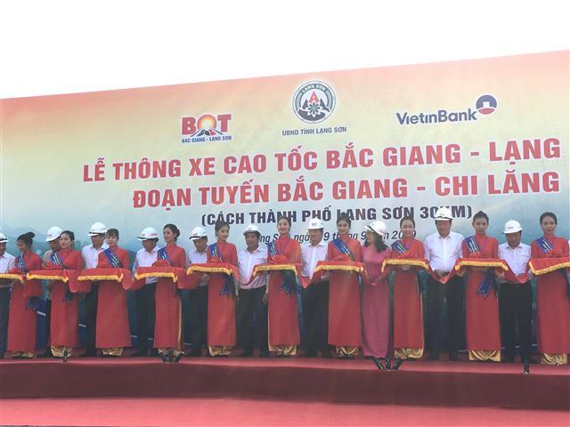 Yêu cầu cơ cấu lại nền kinh tế Cao tốc Bắc Giang – Lạng Sơn hình ảnh 1