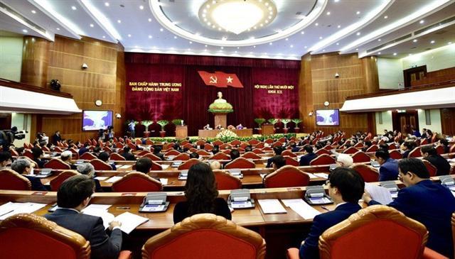 Trung ương thảo luận về tình hình kinh tế - xã hội 2019