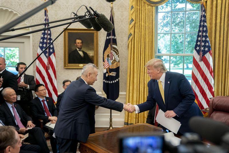 Mỹ và Trung Quốc đã đạt thỏa thuận thương mại giai đoạn 1