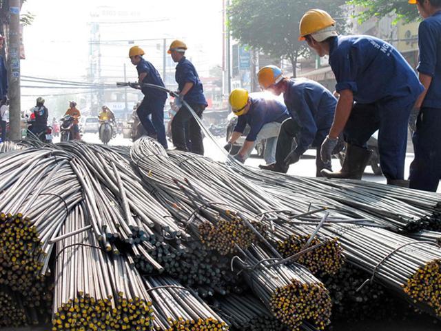 Thu gần 2,5 tỉ USD từ xuất khẩu sắt thép