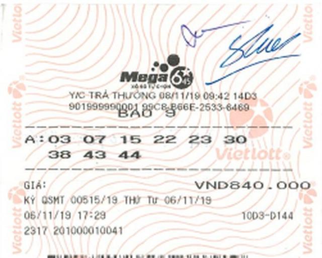 Lần đầu tiên, một người nước ngoài trúng vé số Vietlott hơn 26 tỉ đồng - Ảnh 2.