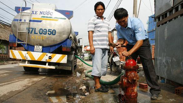 TP.HCM: giá nước cao nhất chưa tới 4.500 đồng/m3 - Ảnh 1.