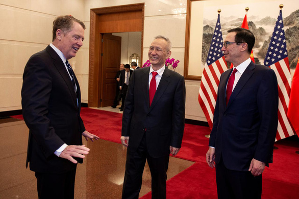 Truyền thông Trung Quốc lạc quan về đàm phán thương mại Mỹ - Trung - Ảnh 1.