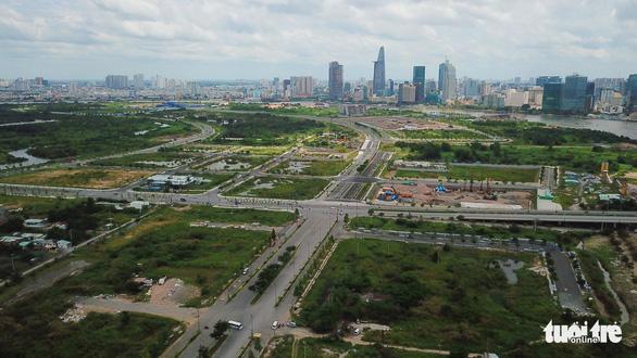 Quận 2 đề xuất tiếp tục thu hồi đất cho dự án Khu đô thị mới Thủ Thiêm - Ảnh 1.