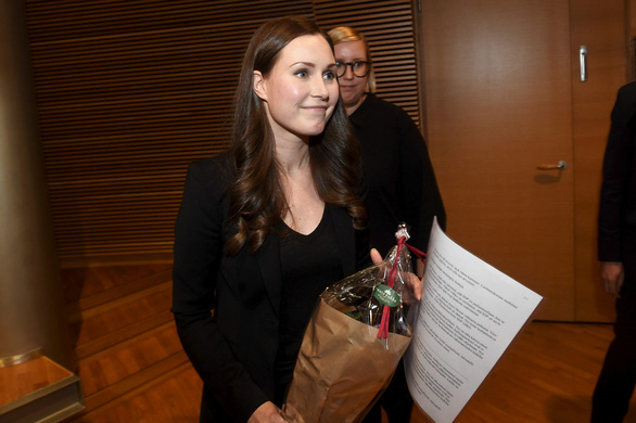 Phần Lan có nữ thủ tướng 34 tuổi, trẻ nhất thế giới - Ảnh 1.