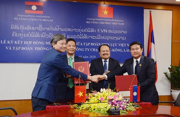 EVN dự kiến mua gần 1,5 tỉ kWh điện từ Lào - Ảnh 1.
