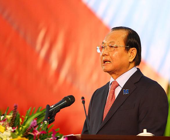Nguyên bí thư Thành ủy TP.HCM Lê Thanh Hải - Ảnh: CHÍ QUỐC