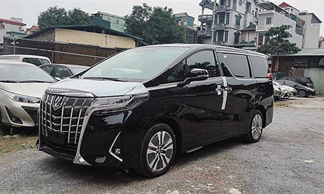Toyota Vietnam recalls Alphard MPVs over seatbelt fault