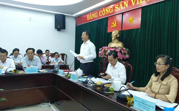 Xem xét kiến nghị chuyển 4 xã của huyện Bình Chánh lên thị trấn - Ảnh 1.