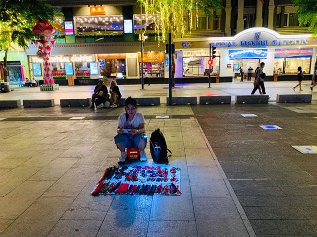 Sinh kế vỉa hè Sài Gòn quay quắt trong dịch Covid-19