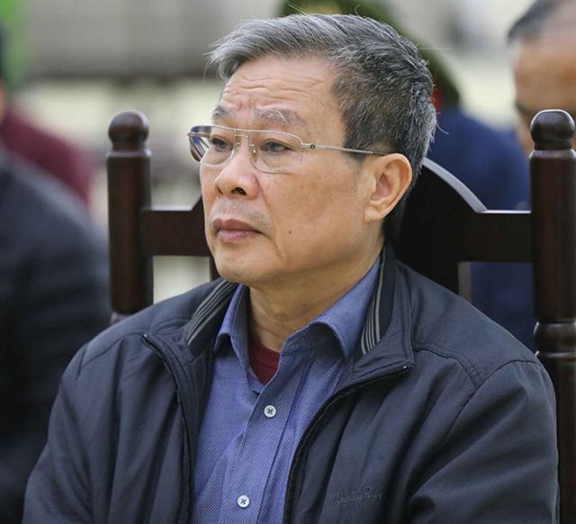 Chuẩn bị xét xử phúc thẩm cựu Bộ trưởng Nguyễn Bắc Son