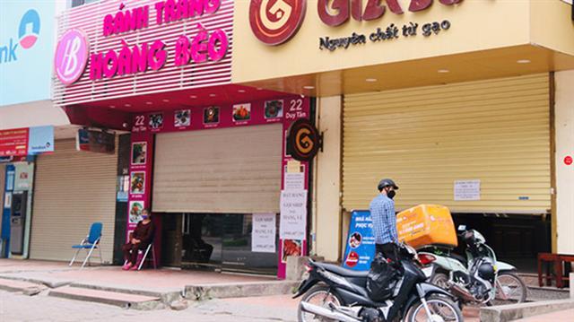 Dịch bệnh Covid-19 'tàn phá' thị trường bất động sản bán lẻ ở Hà Nội