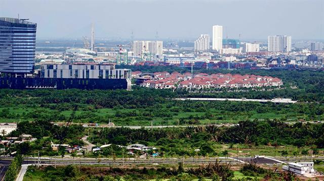 TP.HCM đấu giá 3 lô đất hàng chục ngàn mét vuông ở Thủ Thiêm