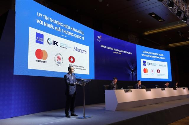 VIB 2020 AGM: journey to large-scale and quality retail banking