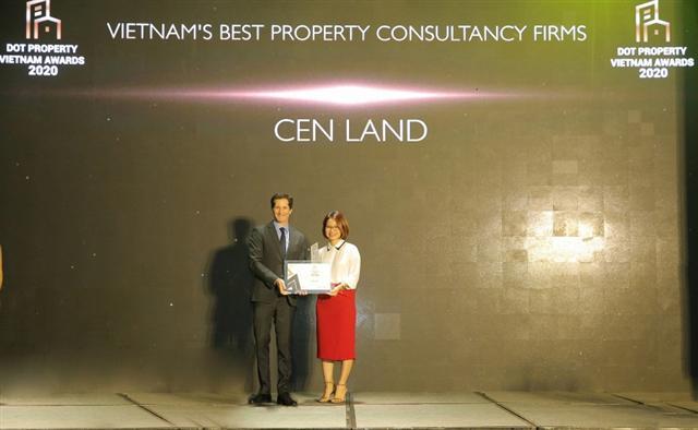 Cen Land – Big winner at Dot Property Vietnam Awards 2020