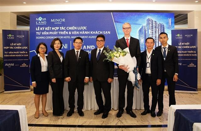Novaland partners up with Minor Hotel Group for management of 5-star Avani Saigon hotel at The Grand Manhattan