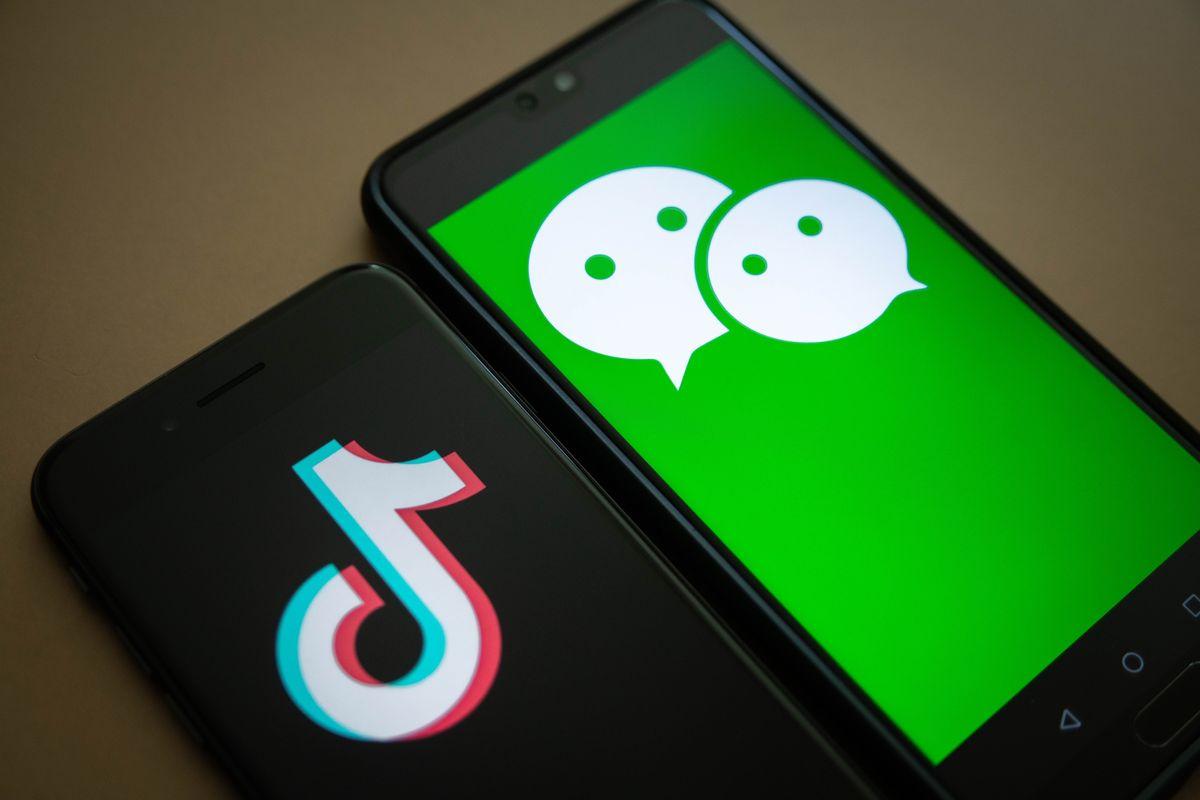 tiktok wechat - Trung Quốc Sẽ Mang WeChat, TikTok Vào Bàn Đàm Phán Với Mỹ?