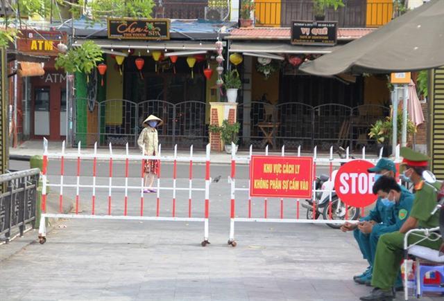 Tình hình Covid-19 tại Quảng Nam ngày 13.8: Hội An tiếp tục giãn cách xã hội