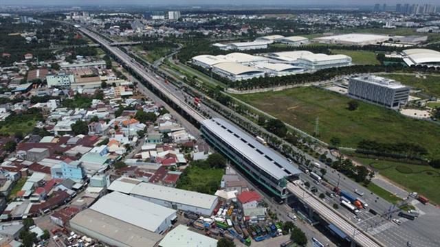 'Thổi' giá đất theo thành phố tương lai