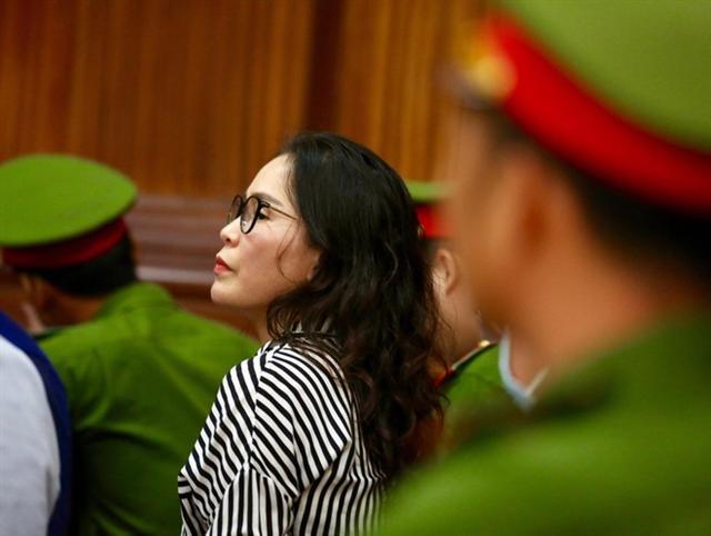 Xét xử ông Nguyễn Thành Tài và đồng phạm: Bị cáo Thúy nói 'KSV gài khi nói chúng tôi chuyển tiền cho nhau'