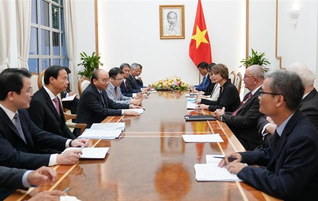 EU investors eye $1 billion logistics hub in Vietnam