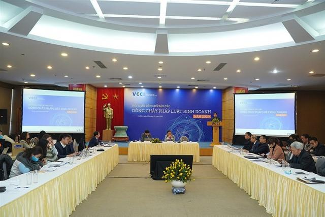 VCCI highlights advances in legislation and business reforms in 2020