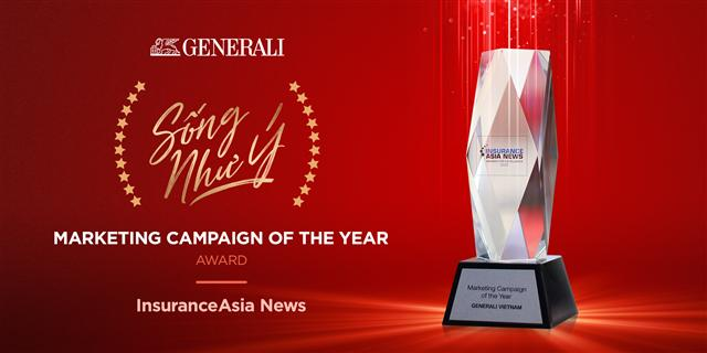 "Generali Vietnam's ""Song Nhu Y"" awarded Marketing Campaign of the Year"