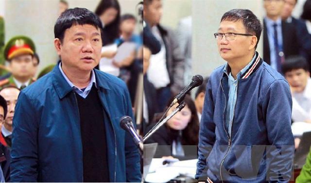 Ông Đinh La Thăng và Trịnh Xuân Thanh chuẩn bị tiếp tục hầu toà - Ảnh 1.