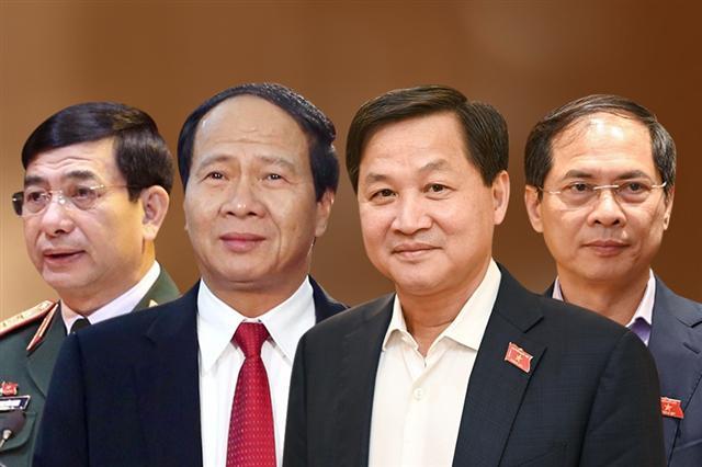 phê chuẩn bổ nhiệm một số thành viên Chính phủ ảnh 1